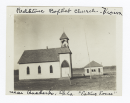 Red Stone Baptist Church and Eating House, near Anadarko, Oklahoma