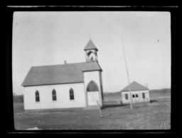 Red Stone Baptist Church and Eating House, near Anadarko, Oklahoma