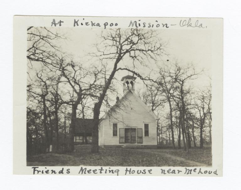 Friends Meeting Meeting House, near McLoud, Oklahoma
