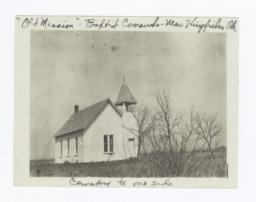 Baptist Comanche Church with Cemetery, near Kingfisher, Oklahoma
