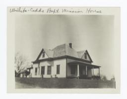 Wichita Caddo Baptist Mission House, Anadarko, Oklahoma