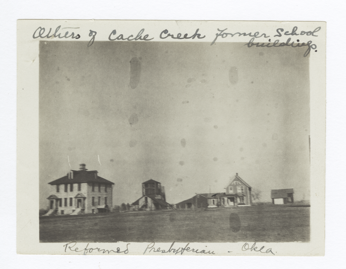 Former School Buildings of the Cache Creek Mission, Oklahoma