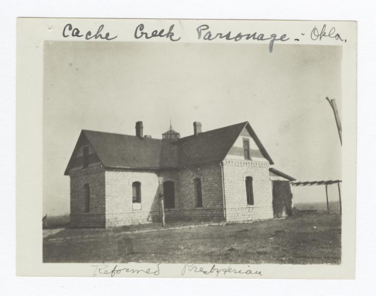 Cache Creek Parsonage, Oklahoma