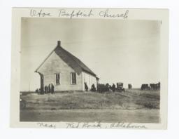 Otoe Baptist Church, near Red Rock, Oklahoma
