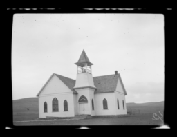 Chapel at Baptist Mission, Saddle Mountain, Oklahoma