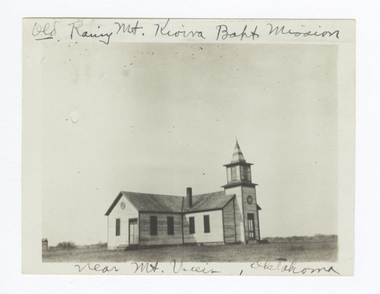 Old Rainy Mountain Kiowa Baptist Mission, near Mountain View, Oklahoma