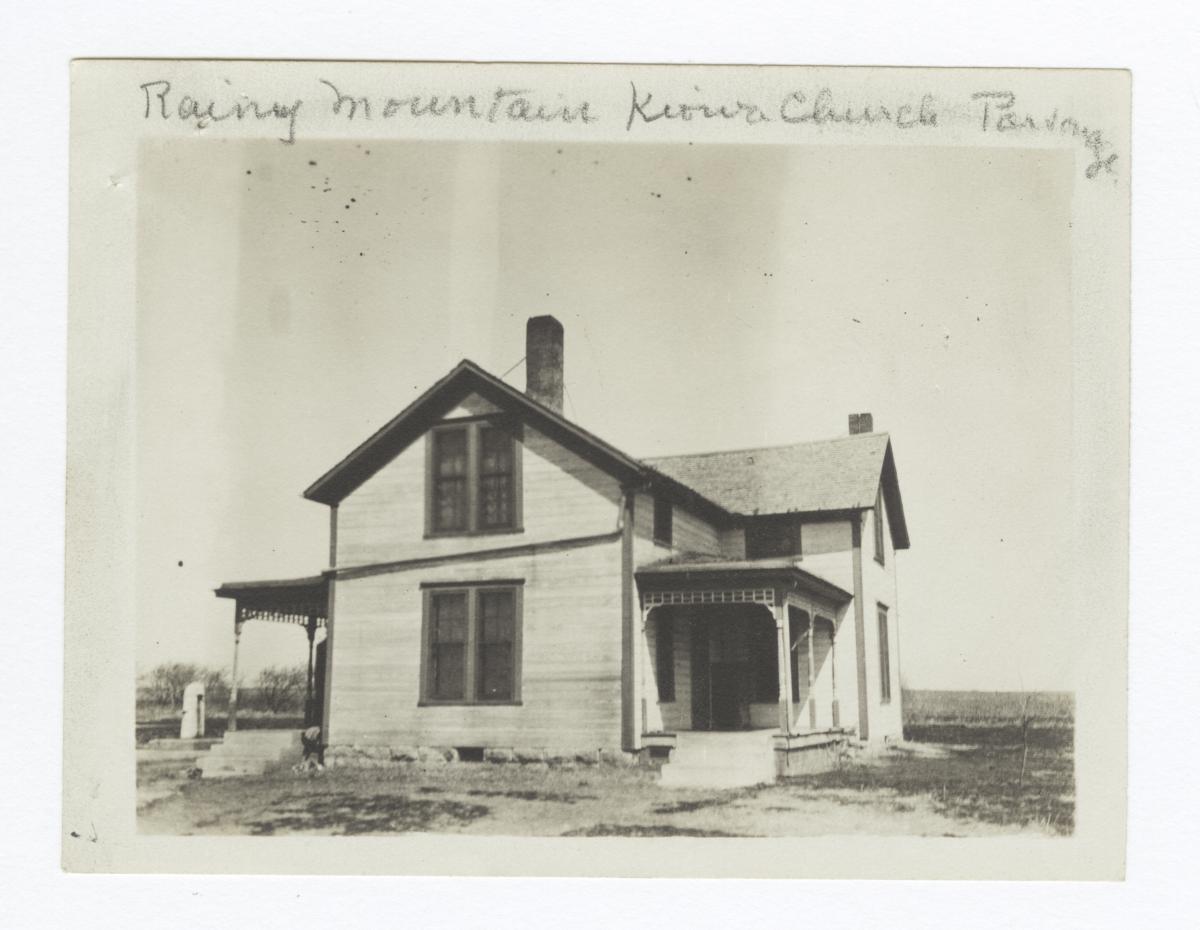 Rainy Mountian Kiowa Church Parsonage, Oklahoma