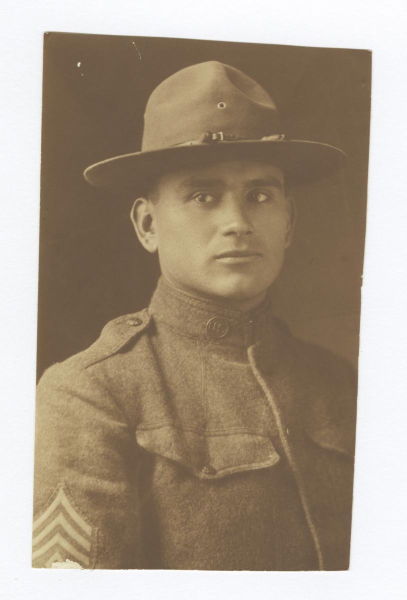 Military Portrait of W. David Owl