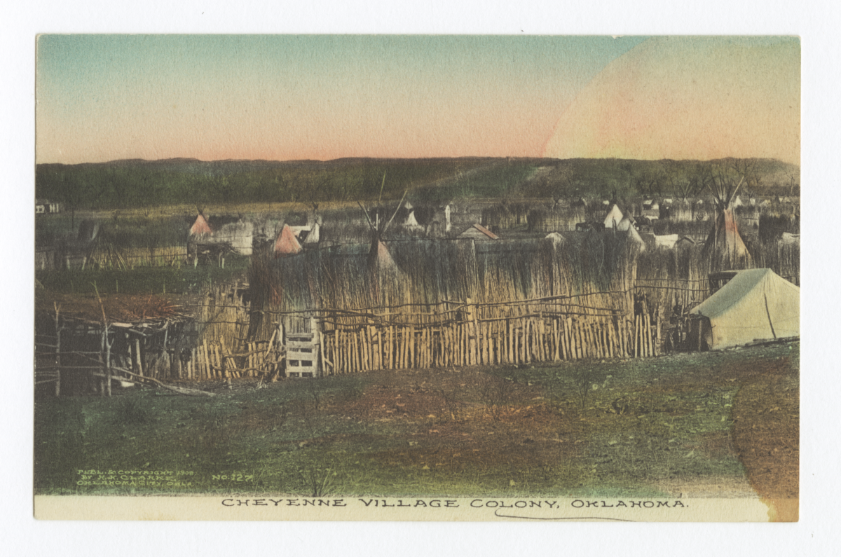 Cheyenne Village, Colony, Oklahoma
