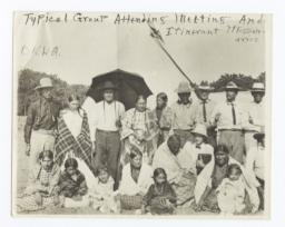 Group Meeting and Itinerant Missionaries, Oklahoma