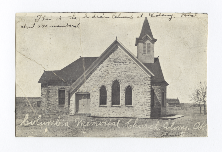 Columbian Memorial Church, Colony, Oklahoma