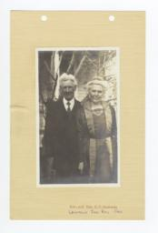 Reverend and Mrs. H.T. Jackson, Umatilla Reservation, Oregon
