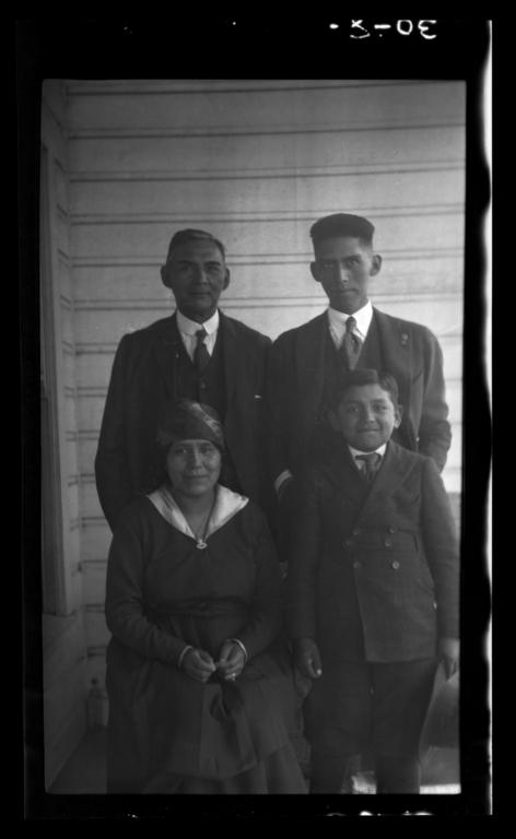 Reverend Connor, Presbyterian Pastor, and Family, Oregon