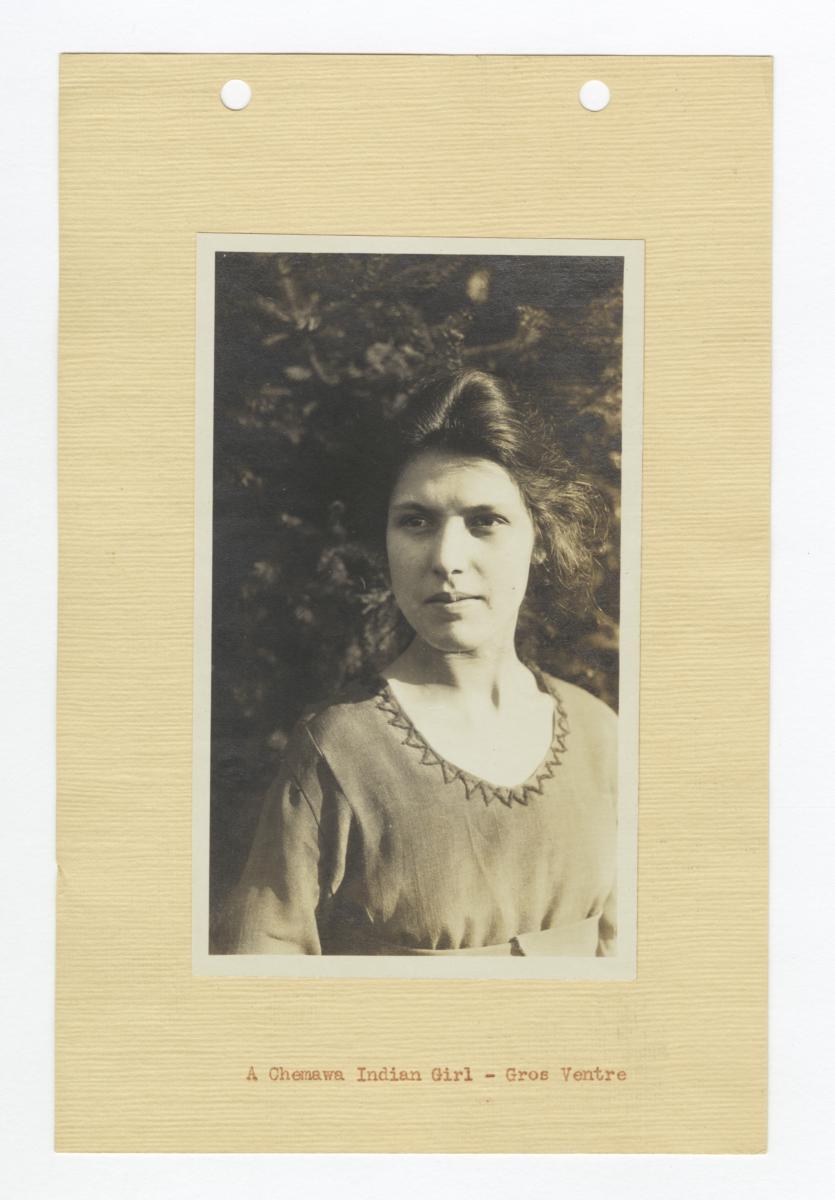 Chemawa Indian Girl, Oregon