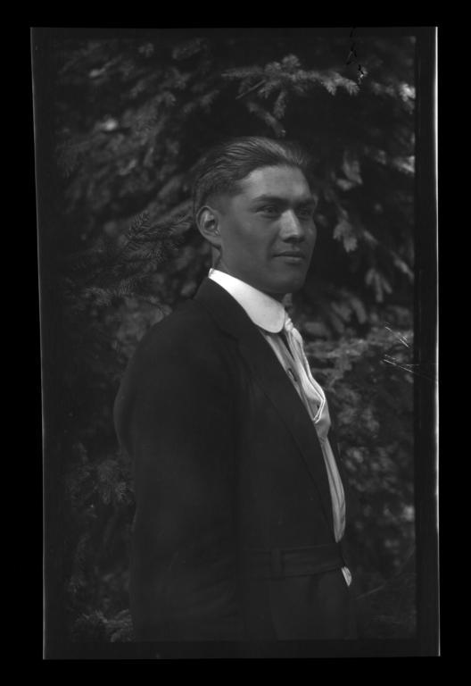 Logan Fann, Graduate of Chemawa Indian School, Oregon