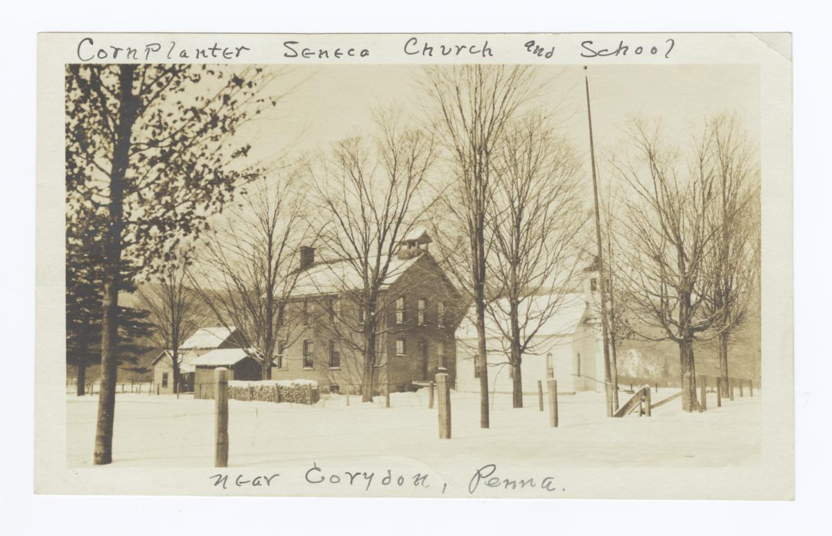 Cornplanter Seneca Church, Corydon, Pennsylvania