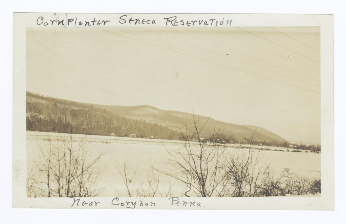 Cornplanter Seneca Reservation near Corydon, Pennsylvania