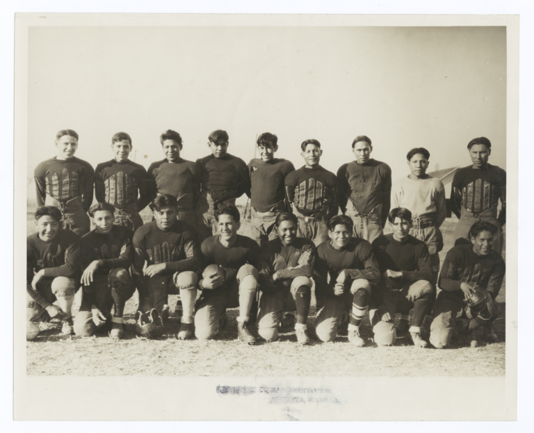 Native American Football Team, American Indian Institute, Wichita, Kansas