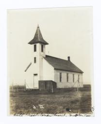 Hill Presbyterian Church, Yankton Reservation, South Dakota