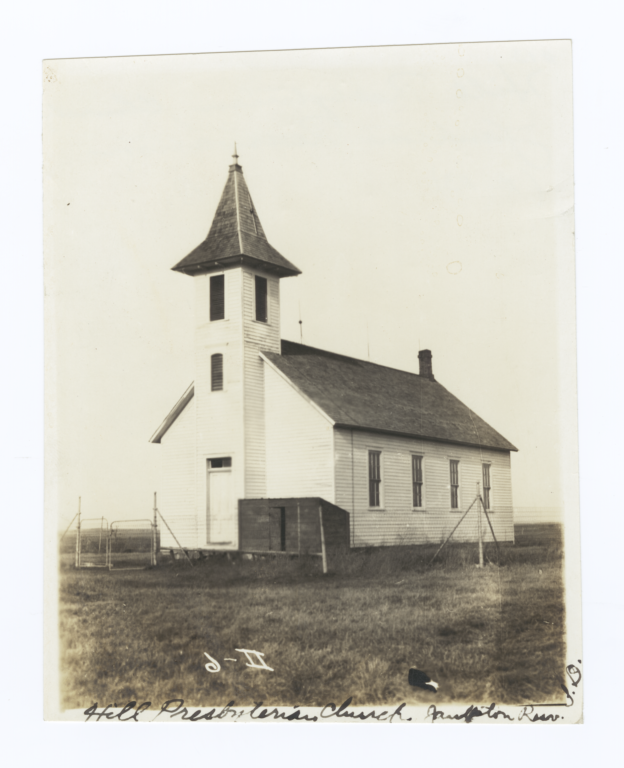Hill Presbyterian Church, Yankton Reservation, South Dakota