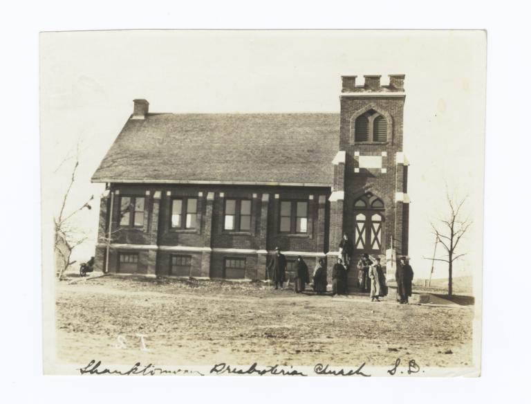 Shanktonwan Presbyterian Church, Yankton Reservation, South Dakota