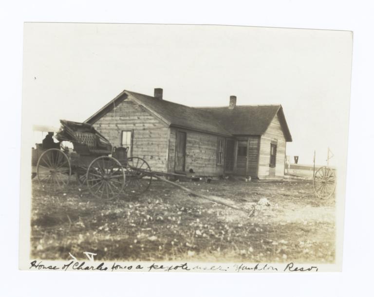 House of Charles Jones, Site of Peyote Meetings, Yankton Reservation, South Dakota