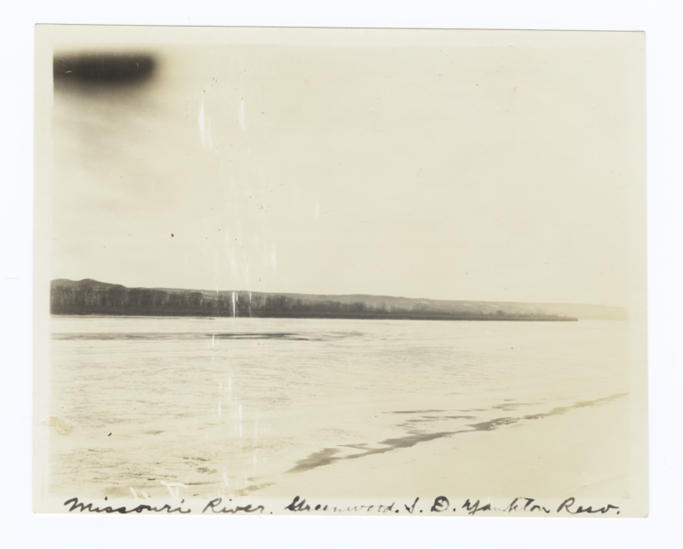 Missouri River, Yankton Reservation, South Dakota