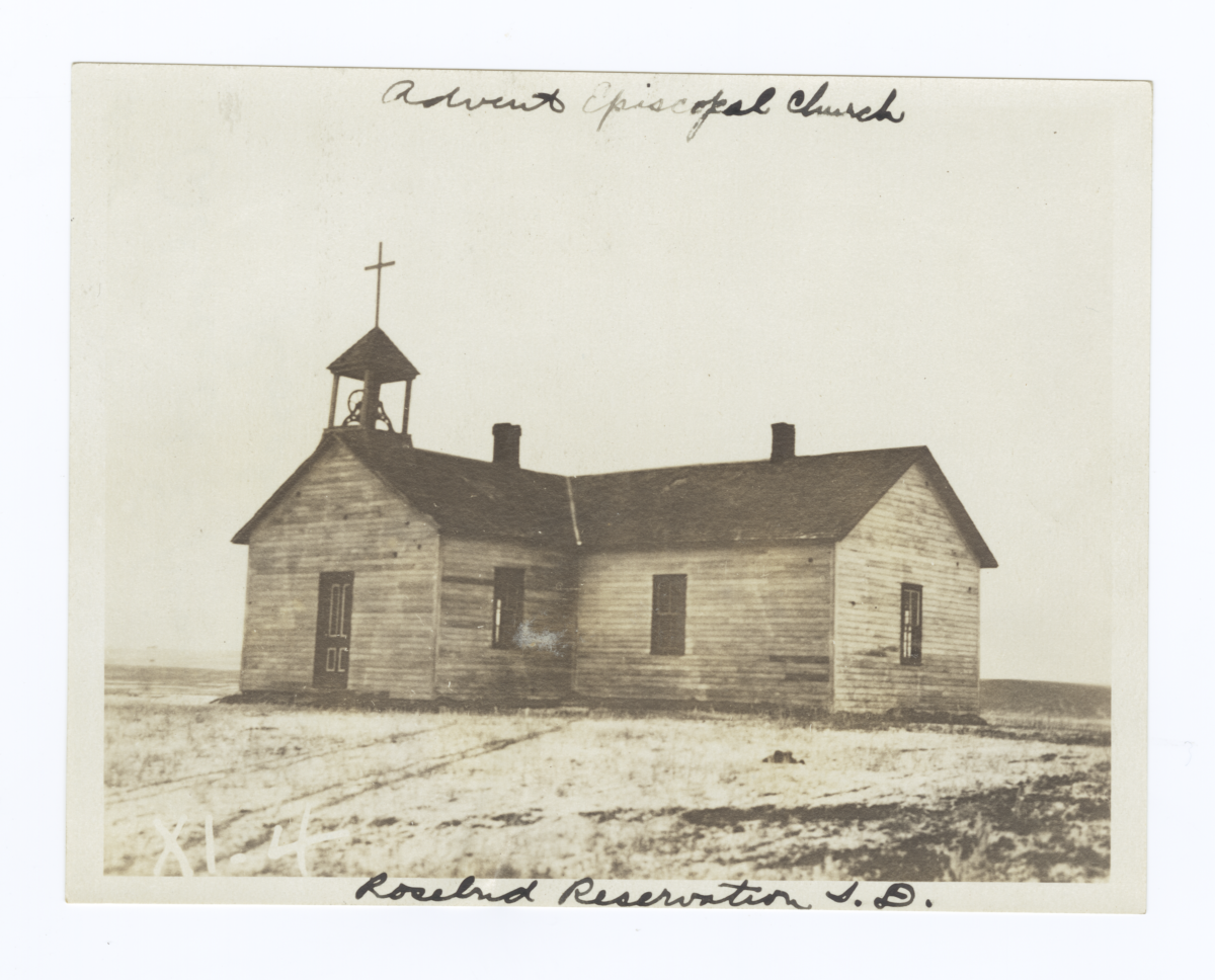 Advent Episcopal Church, Rosebud Reservation, South Dakota