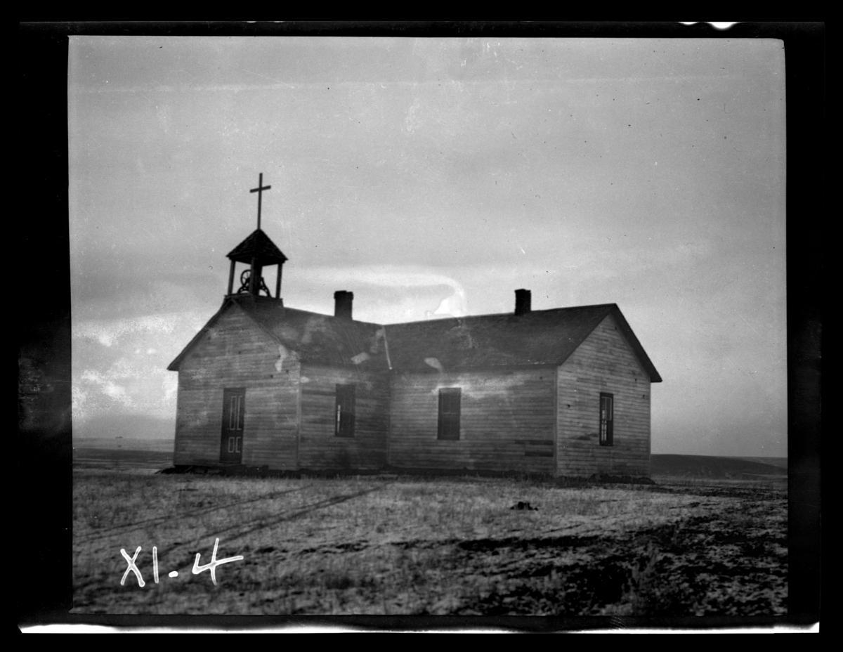 Advent Episcopal Church, Rosebud Reservation, South Dakota