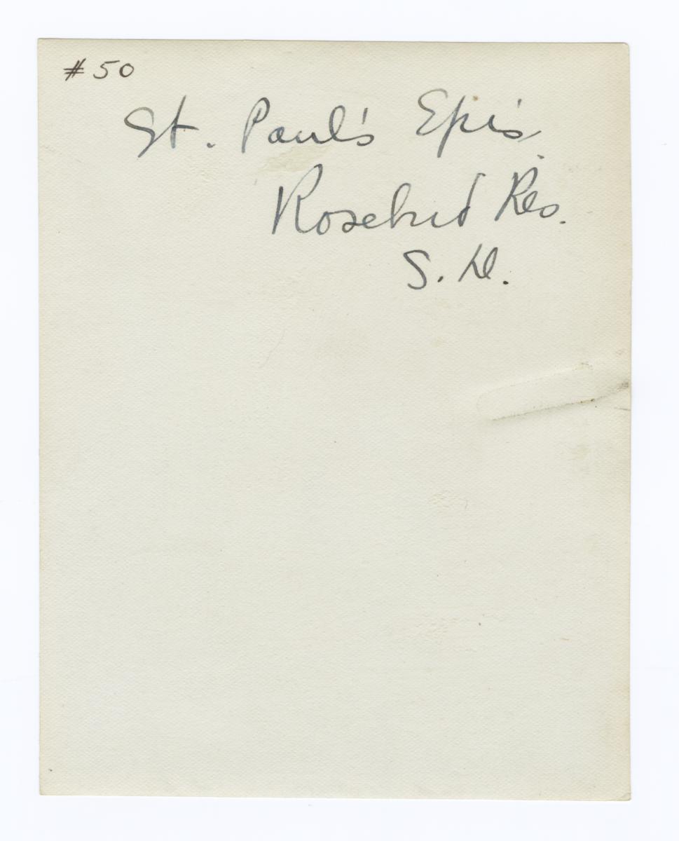 St. Paul's Episcopal Church, Rosebud Reservation, South Dakota