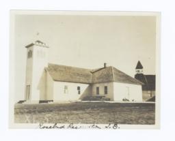 Church Building on Rosebud Reservation, South Dakota