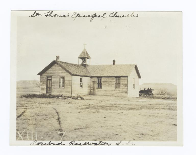 St. Thomas Episcopal Church Rosebud Reservation, South Dakota