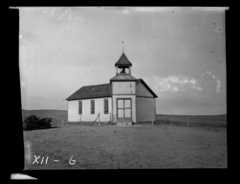 Salt Camp, Congregational Church, Rosebud Reservation, South Dakota