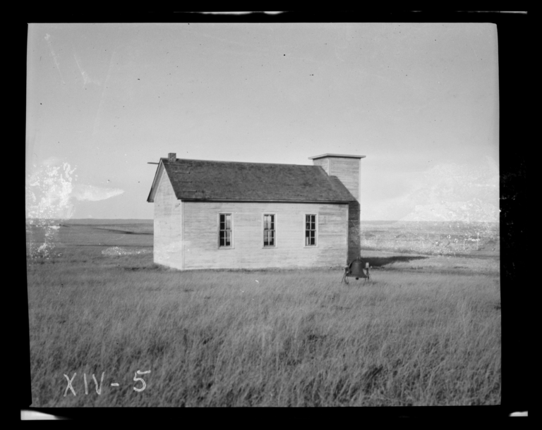 Cross Memorial Congregational Church, Rosebud Reservation, South Dakota