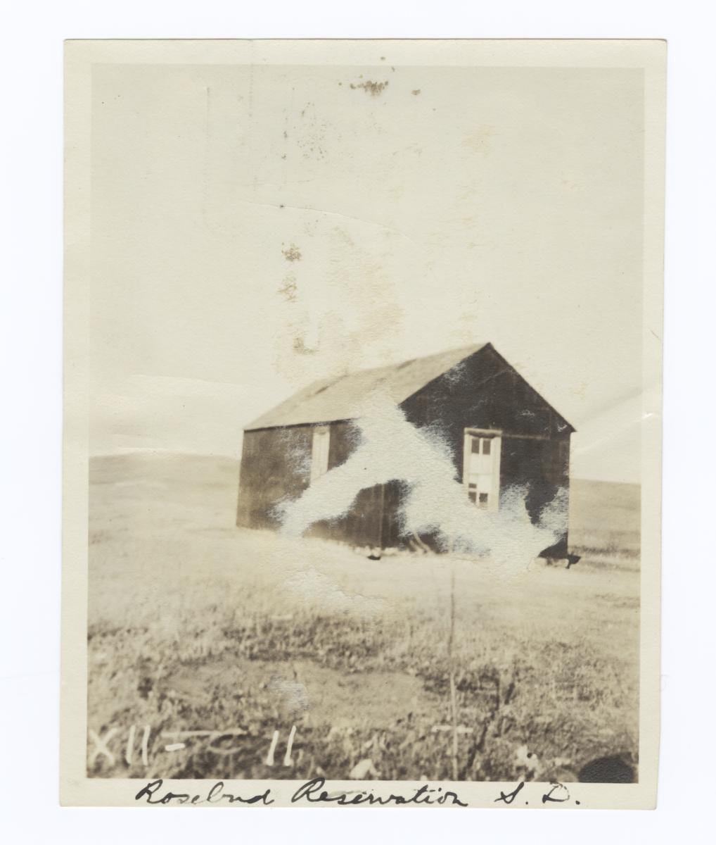 Congregational Church, Rosebud Reservation, South Dakota