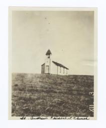 St. Andrew's Episcopal Church, Rosebud Reservation, South Dakota