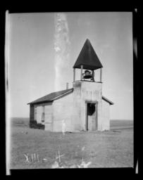 Wowoso Congregational Church, Rosebud Reservation, South Dakota