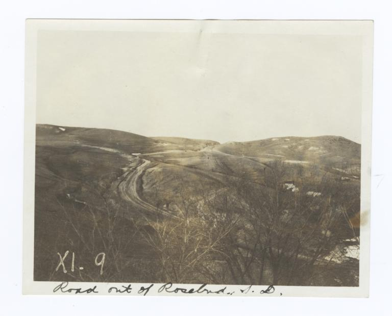 Road Out of Rosebud, South Dakota