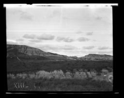 Badlands Landscape, Rosebud Reservation, South Dakota