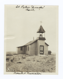 St. Peter's Episcopal Church, Rosebud Reservation, South Dakota