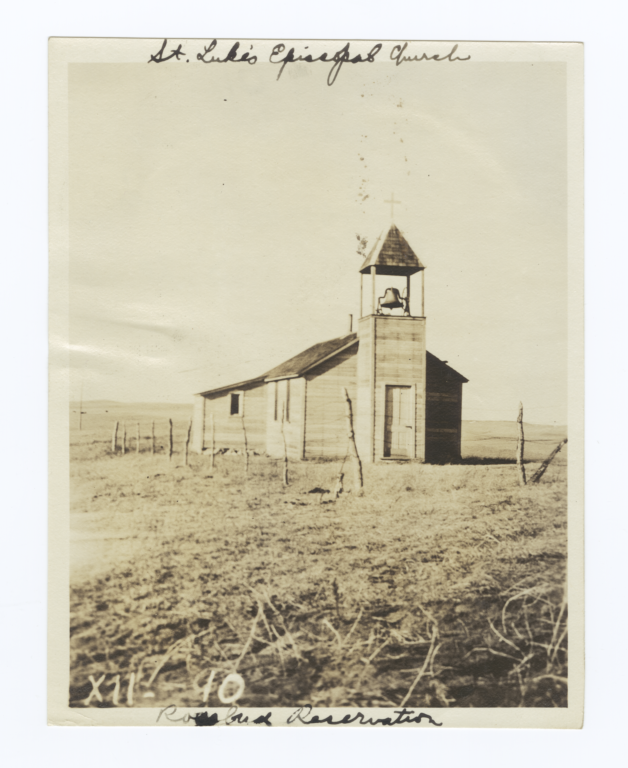 St. Luke's Episcopal Church, Rosebud Reservation, South Dakota