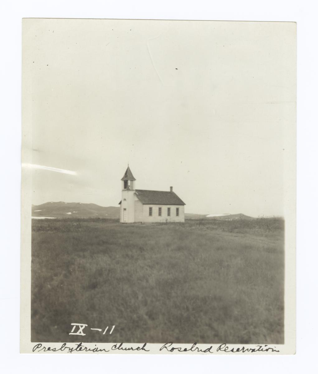 Presbyterian Church, Rosebud Reservation, South Dakota