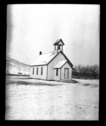 Burrall Station (Congregational), Rosebud Reservation, South Dakota