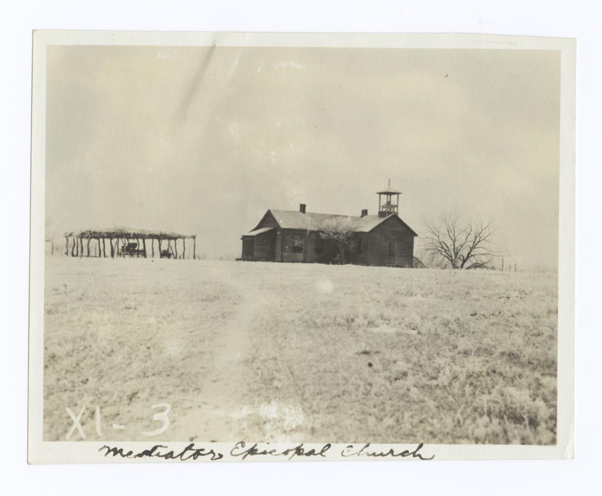 Mediator Episcopal Church, Rosebud Reservation, South Dakota