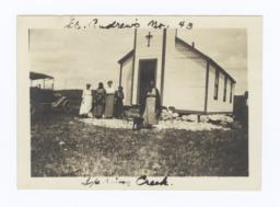 St. Andrew's Church, Spring Creek, Rosebud Reservation, South Dakota