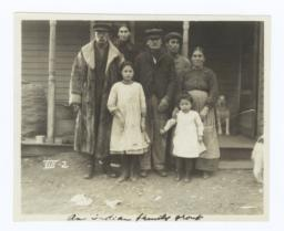 Native American Family, Reverend Francis Frazier (left) and the Reverend Albert Frazier (right)