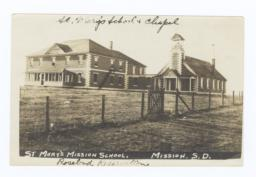 St. Mary's Mission School & Chapel, Rosebud Reservation, South Dakota