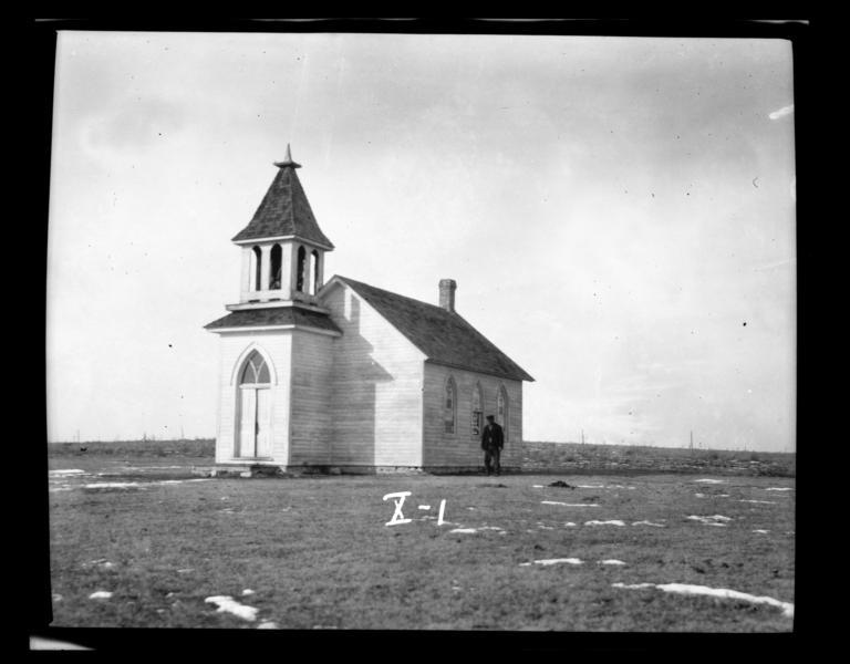 Gilbert Memorial Church, Rosebud Reservation, South Dakota