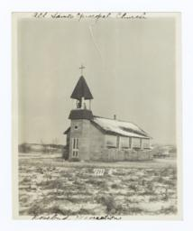 All Saints Episcopal Church, Rosebud Reservation, South Dakota