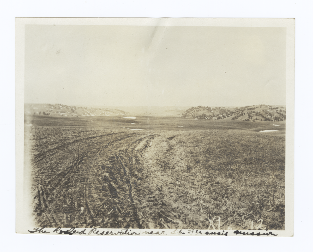 Rosebud Reservation near St. Francis Mission, South Dakota